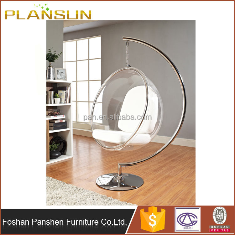 eero aarnio clear acrylic hanging ball chairs rooms to go bedroom furniture transparent bubble chair