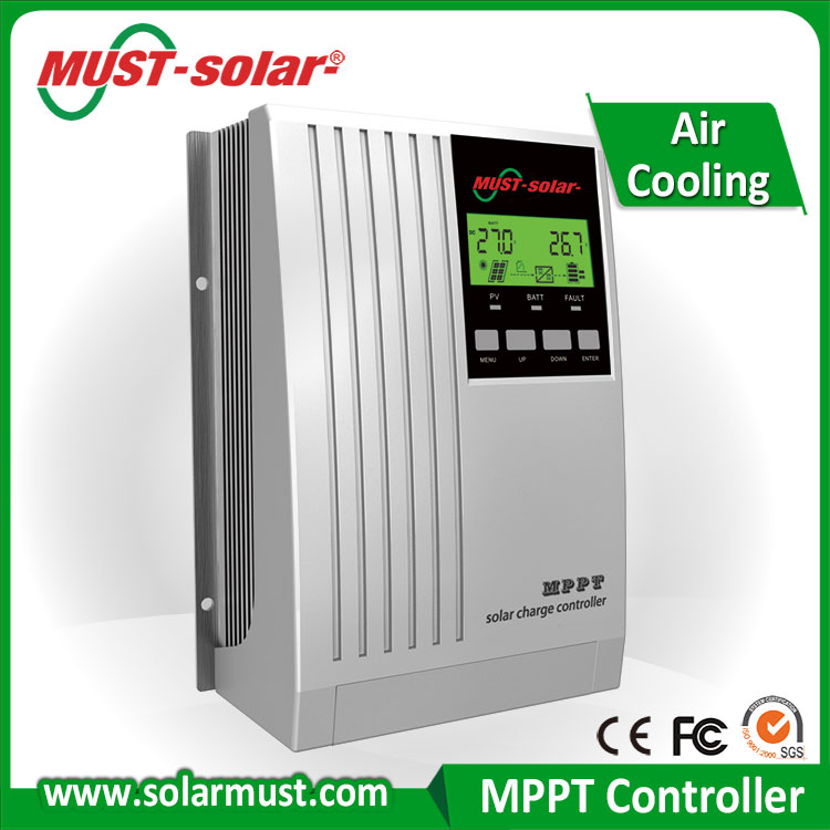DSP processors architecture ensures high speed and performance 20A mppt solar charge controller