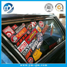 Custom printed vinyl sticker / adhesive car window decal