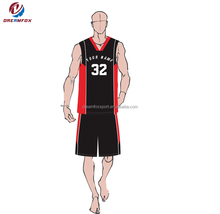 2018 black youth european custom basketball uniforms jersey design team names