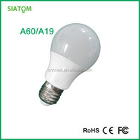 Ienergy high lumens 5w E27 base wide angle a60 led bulb with CE/FCC/ROHS certificate with 2 years warranty of China origin