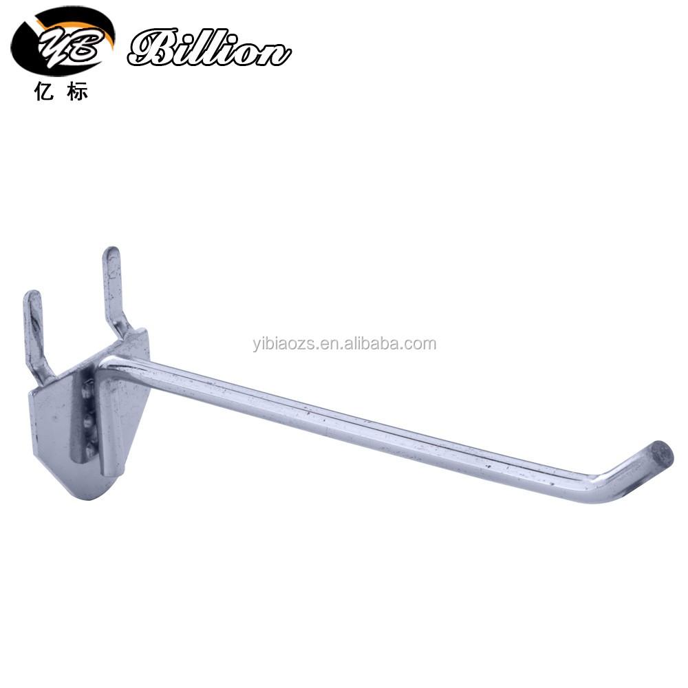 Supermarket peg hooks for tools display hooks metal pegboard display
