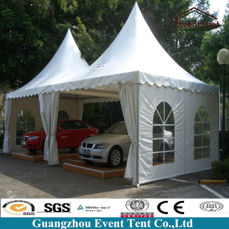China Suppliers PVC Cover Waterproof White Wall Hat Lowes Used Carports For Sale