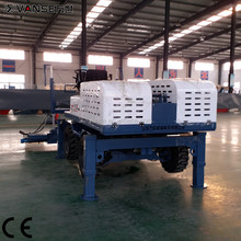 multi-function 360 degree concrete vibrator screed machine manufacturer