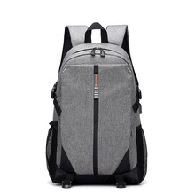 New fashion multifunction big capacity custom waterproof business travel leisure computer bag usb laptop backpack