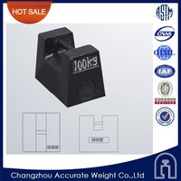 changzhou M1 100kg mass comparator, cast iron block weights, calibration counterweights
