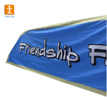 Large format fabric Banner Outdoor hanging Banner Folding Advertising Banner Flag