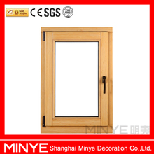 hot insulation and soundproof hopper/bottom hinged window and pvc/upvc/vinyl profile windows with double tempered glass