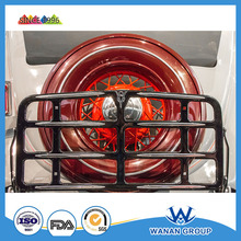red color high gloss spare tire cover surface powder coating