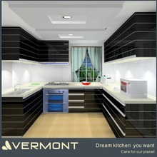 New design kitchen wall hanging cabinet with LED light VT-PC-14