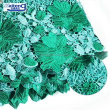 Professional Design 3D Laser Cutting Embroidery Fabric Embroidered Wax Cord Lace