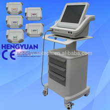 5 years warranty Professional wrinkle smooth high intensity focused ultrasound HIFU machine