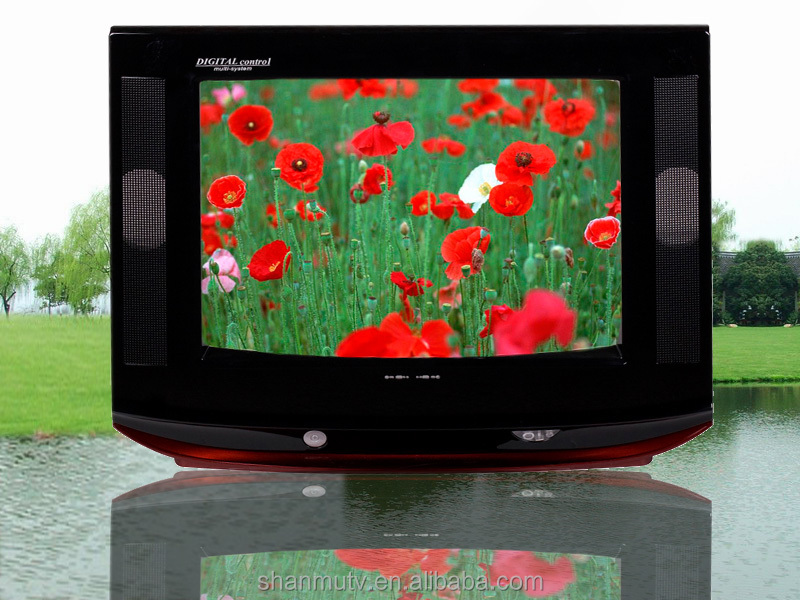 15'' inch home used A picture tube good quality crt tv