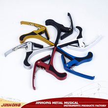 High quality metal and multi-color guitar capo for musical instruments