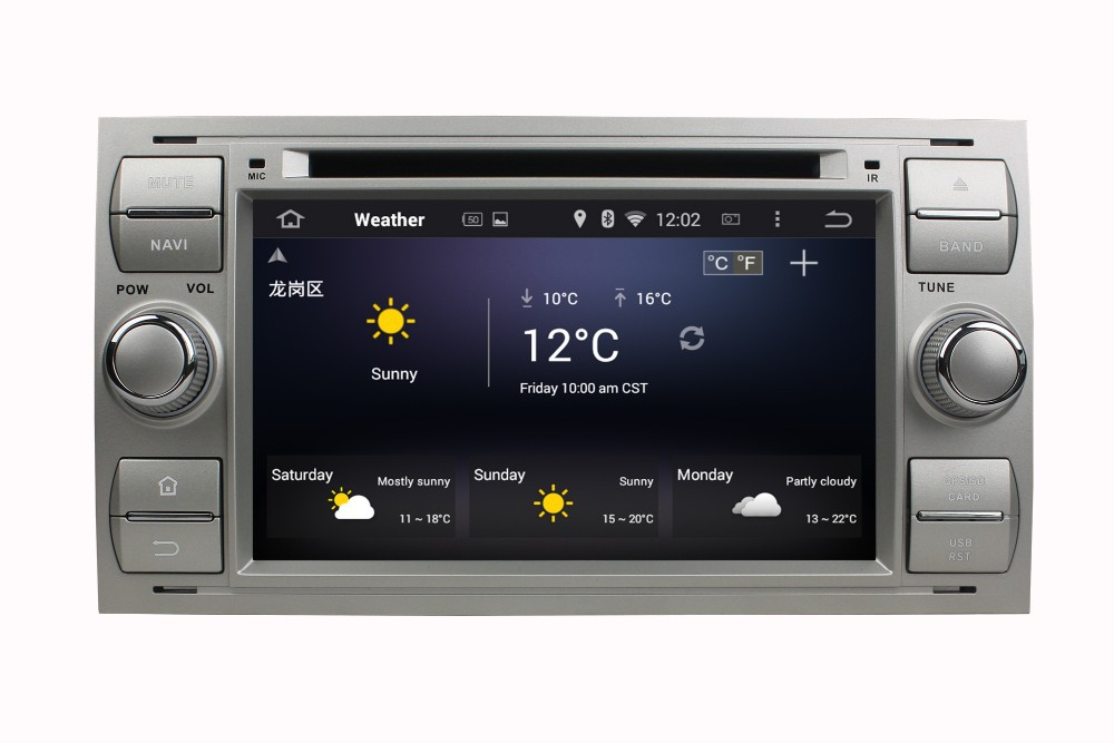 Touch screen car dvd player for Mondeo S-MAX C-MAX car dvd gps navigation with bluetooth+built-in gps