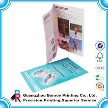 Factory Direct Supply A4 Size Promotional OEM Brochure Design Templates