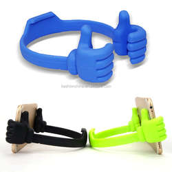 Top Recommend Funny Cute Desktop Stand phone holder Mount Thumb Hand Holder For Cell Phone Table
