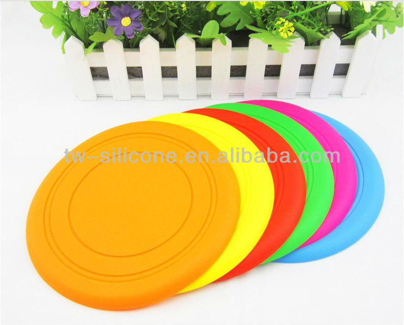 Custom dog frisbee Silicone frisbee for dog