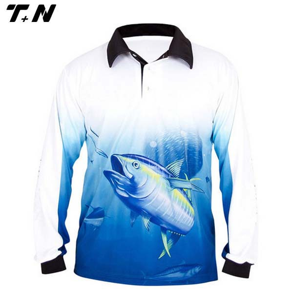 Mens fishing shirt tournament fishing jerseys fishing wear for Dri fit fishing shirts