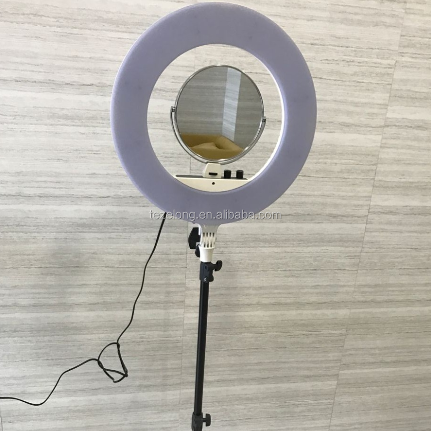most popular Nanguang cn-r480c led ring light photography with 480 high brightness led beads stepless dimmable