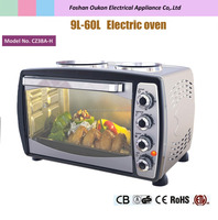 CZ30A-H 38L electric baking oven toaster hotplate oven heating element