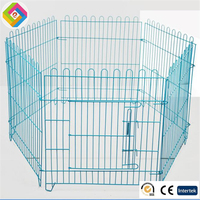 Wire fence, dog fence, dog cage,