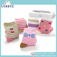 Wholesale Custom Made Socks Infant Kid Sock for baby booties