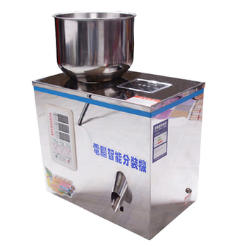 2-200g Automatic Dry Powder Filling Machine for chemical powder/ground powder/coffee bean/rice/corn