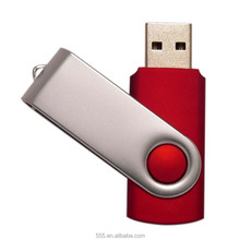 Twist usb flash drive, swivel usb memory, cola red usb drive