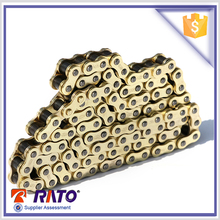 Quality guarantee wholesale 428H 108L motorcycle chain from China