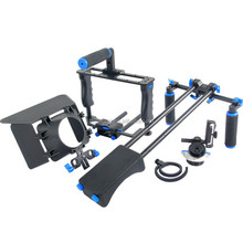 Handheld/shoulder Dslr rig camera cage set kit with follow focus matte box for Canon 5D2 5D3 6D 7D 60D 70D 5D Film Making Photo