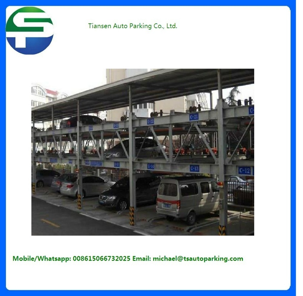 Large amount parking spaces, saving hydraulic car parking lift, automatic parking system,