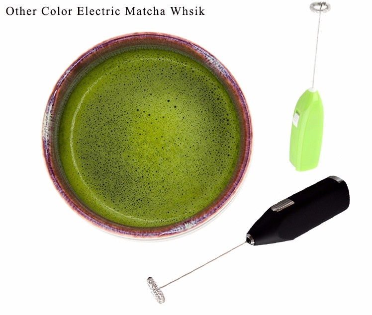 Handheld Electric Matcha Tea Stirrer , 2AA Battery Matcha Whisk