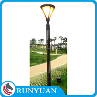 Customized Design 12v Led Garden Light with Pole Q235 Steel International Welding Standard of CWB and AWS D 1.1