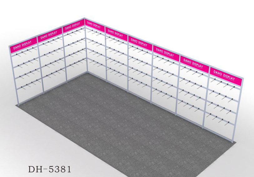 Factory directlay wholesale sample products display rack trade show display rack