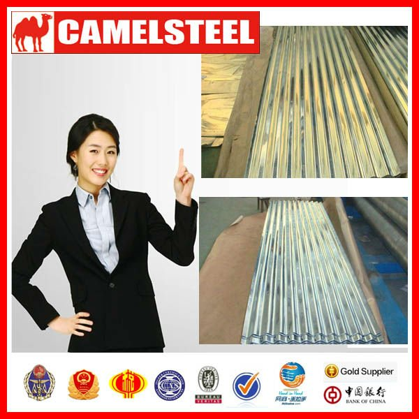 Gi Corrugated Roofing Sheet /lowest Metal Roofing Cost