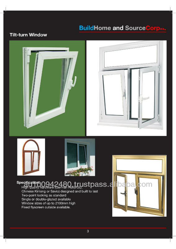 Australian Aluminium / Sliding / Awning / Casement /Louver / Bi-fold windows and doors