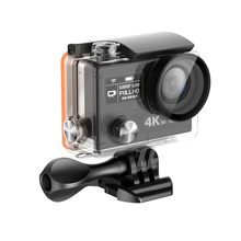 4K 60fps MINI WIFI Sport Action Camera Dual Screen Underwater pro Cam with Remote 360 VR video Shoot Camera
