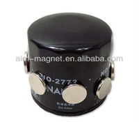 2013 popular oil filter strong magnet china