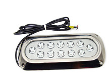 12*3W 316 stainless steel housing spot IP68 CE boat marine underwater LED light