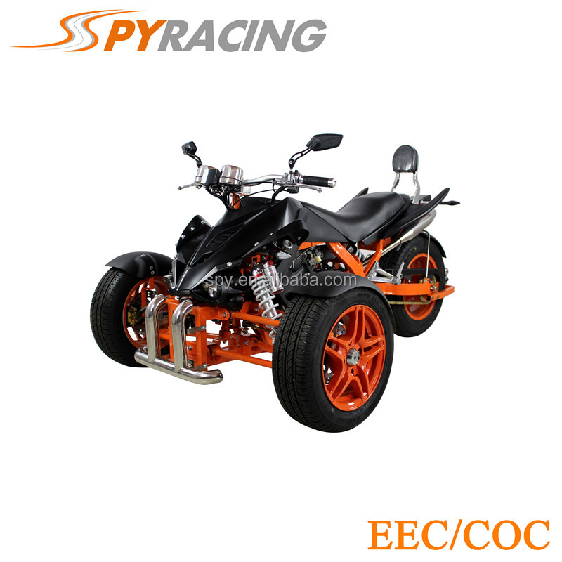 3 wheel motorcycle 350cc Reverse Trike For Adults