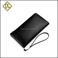 2015 Latest clutch bag men long zip mobile phone case card holder wallet