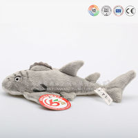 Fashion cute plush alligator toy for kids made of plush fabric