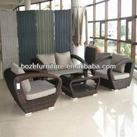 Modern home furniutre rattan sofa, living room furniture sofa indoor and outdoor made in China