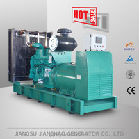 Powered by Cummins KTA19-G8 diesel engine,500kw electric generator
