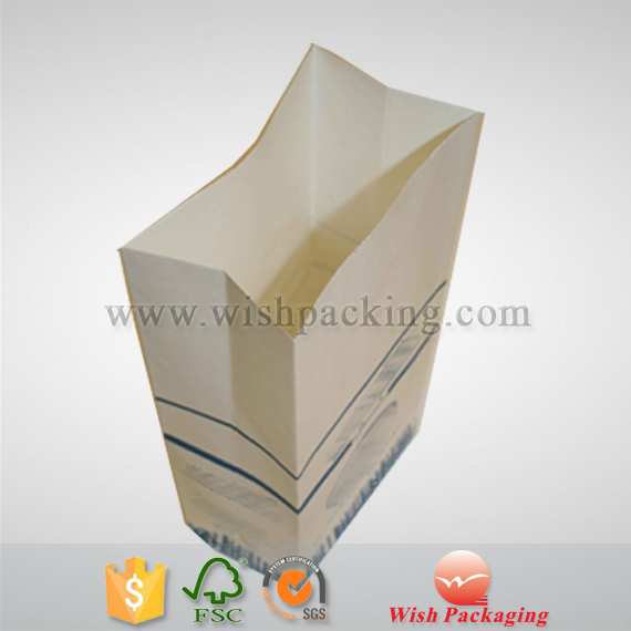 Medicine Pharmaceuticals package using white kraft paper bag