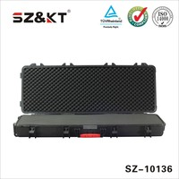Professional design hard case with foam insert air rifle case