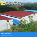 professional manufacture sandwich panel steel frame warehouse