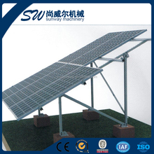 adjustable pvsolver solar ground mounting kits solar rail adjustable fixing bracket photovoltaic support