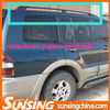 mitsubishi pajero cross bars Roof side rails accessories pajero sport